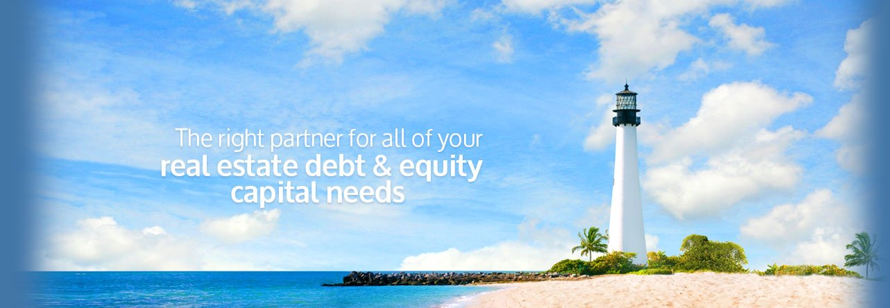 The right partner for all of your real estate debt & equity capital needs